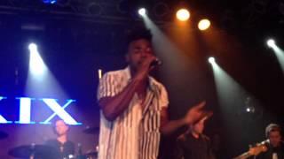 Luke James performs ' Oh God  Live Highline Ballroom NYC Ro James & Friends