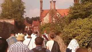 LMS Walsingham Pilgrimage 2013 Hail Mary