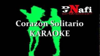 Corazon Solitario Karaoke Alberto Pedraza by Dj Nafi.