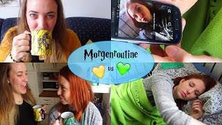 Hufflepuff vs. Slytherin • Morgenroutine (Harry Potter Edition)