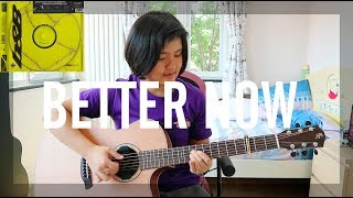 Better Now - Post Malone (fingerstyle guitar cover) (free tabs)