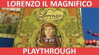Lorenzo il Magnifico - Full Playthrough - Part 1