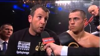 clip from scott quigg interview post fight nov 2013