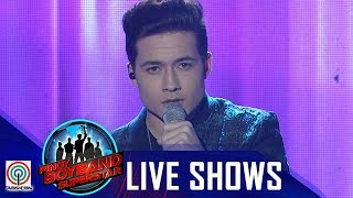"Pinoy Boyband Superstar Live Shows: James Ryan Cesena - ""Say Something"""