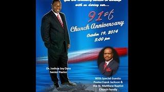 91ST ZION HILL CHURCH ANNIVERSARY