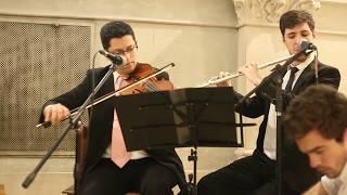 OBOE DE GABRIEL   Flauta Traversa, Violín y Guitarra - MÚSICA PARA CASAMIENTOS @mlcasamientos