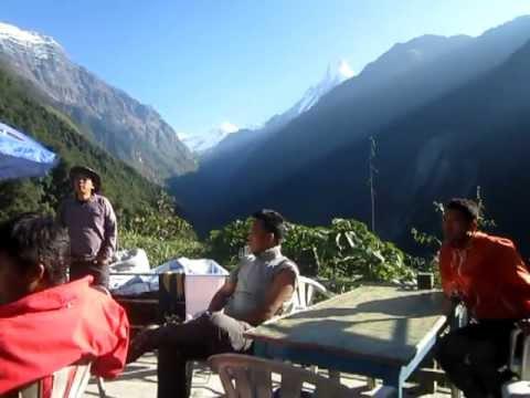Annapurna  base camp camping trek camping Trek