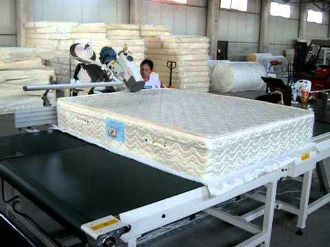 yatak kenar kapama makineleri  ev tekstili yaylı yatak üretimi  VEYSEL KUTUKLU MATTRESES MACHINERY