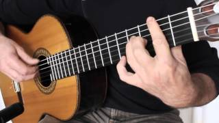 Cry me a River (Julie London) fingerstyle guitar cover