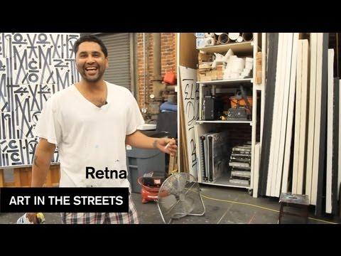 RETNA - Art in the Streets - MOCAtv Ep. 5
