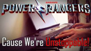 Unstoppable - The Score / Piano + Beats | Power Rangers - 2017