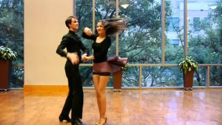 TLD Spring Show 2015 Baylor Latin Dance Society Salsa on Two