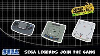Super Monkey Ball: Banana Mania DLC \'Sega Legends Pack\' trailer