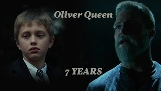 Oliver and Felicity - 7  years [AU]