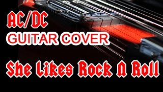 """AC/DC """"She Likes Rock N Roll"""" (Black Ice, 2008), Lead Guitar Cover"""