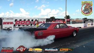 É tetra! Dodge com motor 318 e 4 turbos vence na categoria Pro Mod Nacional!