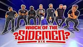 WHICH OF THE SIDEMEN WAS IT?