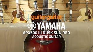 Yamaha APX500 III | DUSK SUN RED