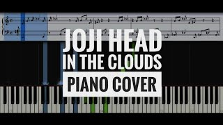 Joji - Head In The Clouds (piano cover) | synthesia | instrumental