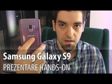 Samsung Galaxy S9 prezentare în limba română
