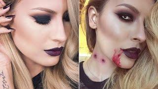 Vampy to Vampire Makeup Tutorial width=
