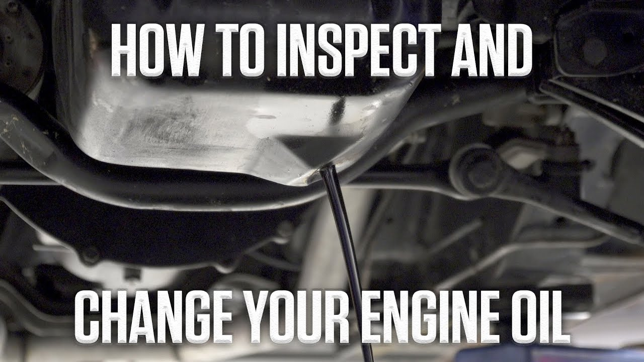 DIY: How to check and change engine oil thumbnail