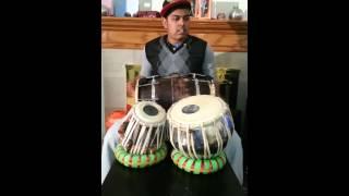 Kabira covered on dholak nd tabla by ashneel singh