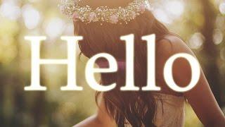 Marshmello - HeLLo (ft Adele + LETRA)