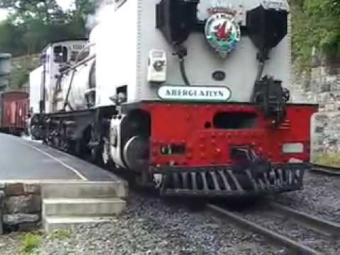 Beyer-Garratt No 87 on the Welsh Highland Railway – Part 5 of 5