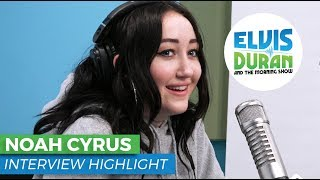 Noah Cyrus Reveals Who She Wants to Collab With | Elvis Duran Show