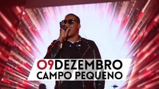 ANSELMO RALPH : 9 DEZ. | Campo Pequeno (LISBOA) | #AmorECego