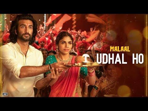 Udhal Ho Lyrics in English & Hindi – Malaal 2019