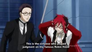 Grell Gets Hurt