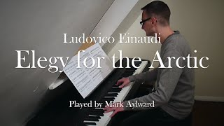 Ludovico Einaudi - Elegy for the Arctic (Piano Cover + Sheet Music)