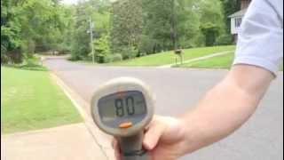 Traxxas Bandit VXL hit 80 mph!!