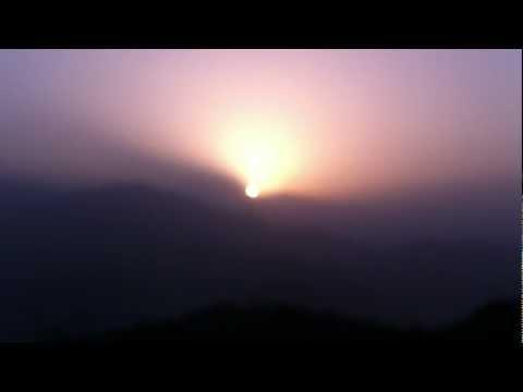 sunrise at sarangkot.MOV