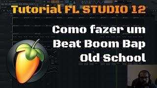 Como fazer um Beat Boom Bap Old School | Tutorial de FL Studio 12 width=