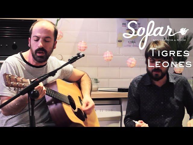 Video de Tigres Leones en directo para Sofar Madrid - Marte