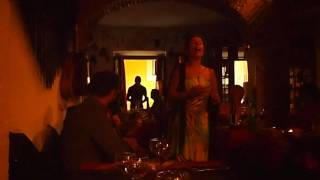 Live fado music in Alfama (Lisbon, Portugal)