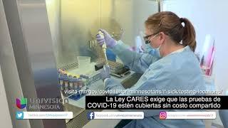 La Ley CARES exige que las pruebas de COVID-19 estén cubiertas sin costo compartido