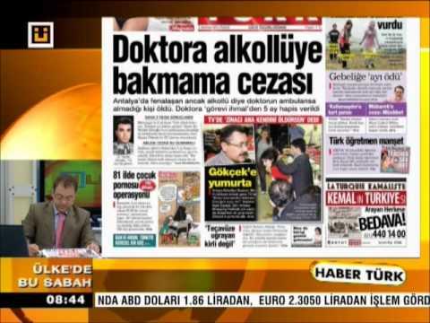 03.06.2012 GAZETELERİN MANŞETLERİ