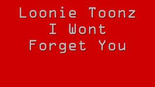 Loonie Toonz - I Won't Forget You