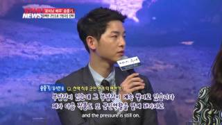 "[STAR NEWS] Song Joongki is back with ""Descendants of the Sun"""