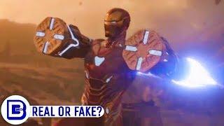Ironman New Armor Science Explained & Captain Marvel Easter Egg Reality | BlueIceBear width=