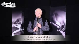Selmer Focus and Concept Clarinet Mouthpiece Demonstrations