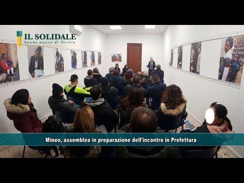 Mineo, assemblea in preparazione dell'incontro in Prefettura
