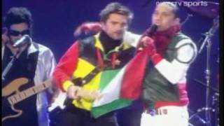 Juanes ft. Taboo (Black Eyed Peas) - La Paga (Live) (DIRECTV Sports)
