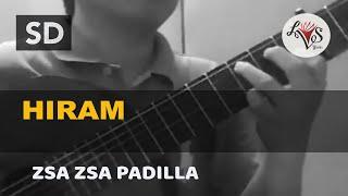 Hiram - Zsa Zsa Padilla (solo guitar cover)