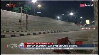 LAGI!! Penutup Saluran Air di Jalan Underpass Mampang Hilang - BIM 22/08