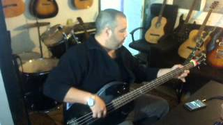 netal bass riff 180 bpm  by yossi cohen